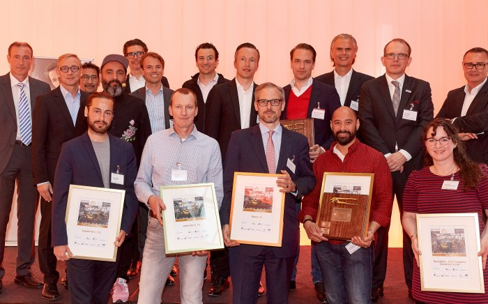 "FinTechGermany Award ""Golden Garage"" 2019"